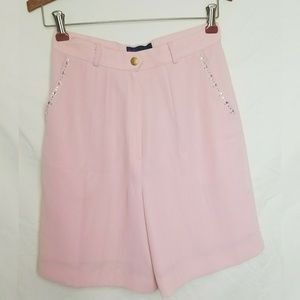 Pink Bedazzled Shorts